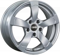 RIO-Rad 6,5X15 4/100 ET35 silber metallic  -  zulässige Reifengrössen: 185/55R15, 195/50R15, 205/50R15  mit ABE