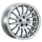 FLORIDA-Rad 7,5X17 4/100 ET35 silber metallic  -  zulässige Reifengrössen: 195/40R17, 205/40R17, 225/35R17 mit ABE