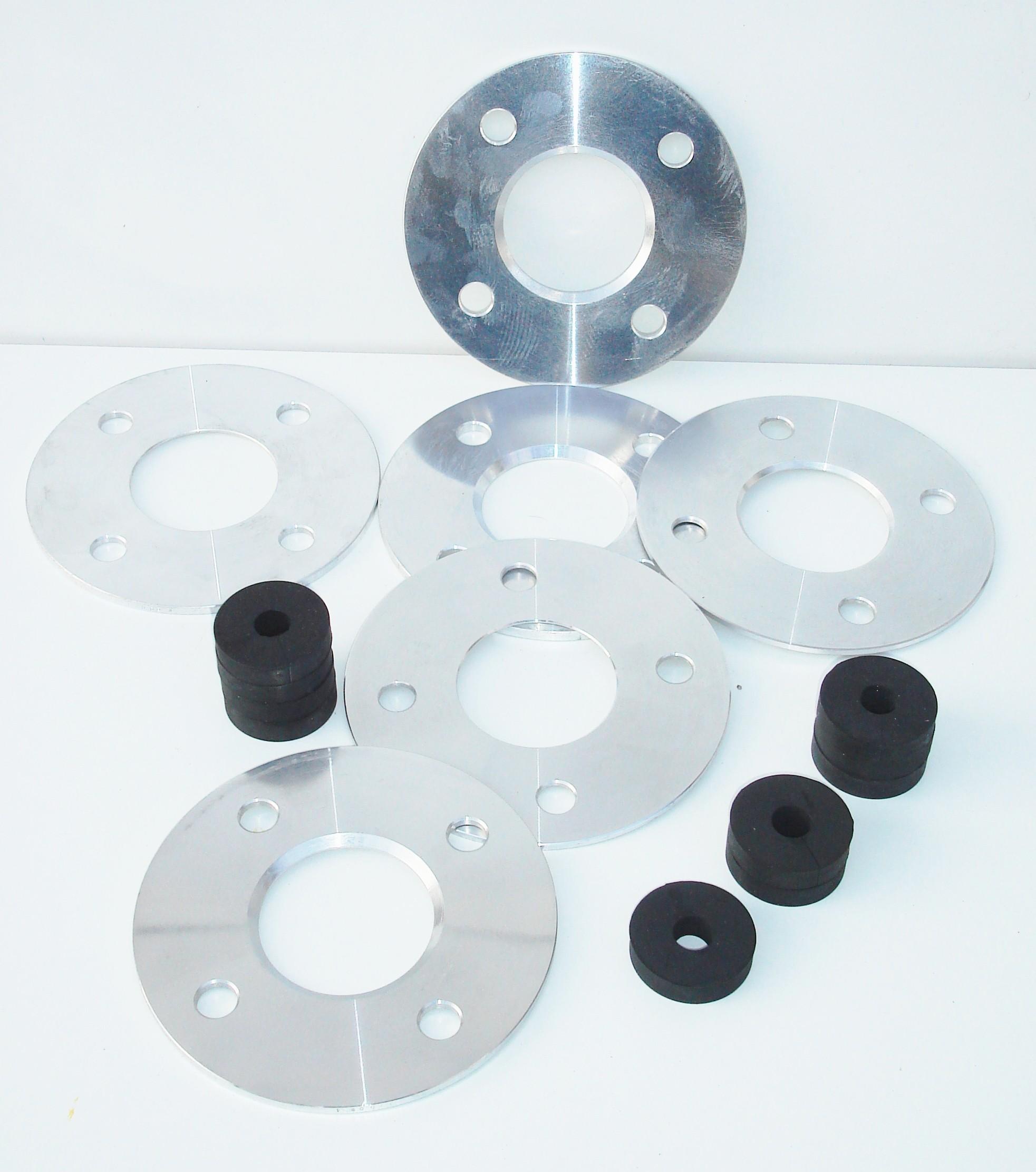 Spurverbreiterungssatz 4,6/9,2mm